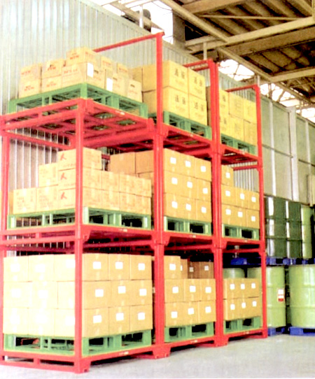 Estainer racking system is a brilliant solution when it comes to organizing space in any warehouse. It is designed to that the racks can be stacked on top ... & Racking Storage System